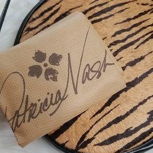 NWT PATRICIA NASH TIGER HAIRCALF ROUND CIRCLE BAG